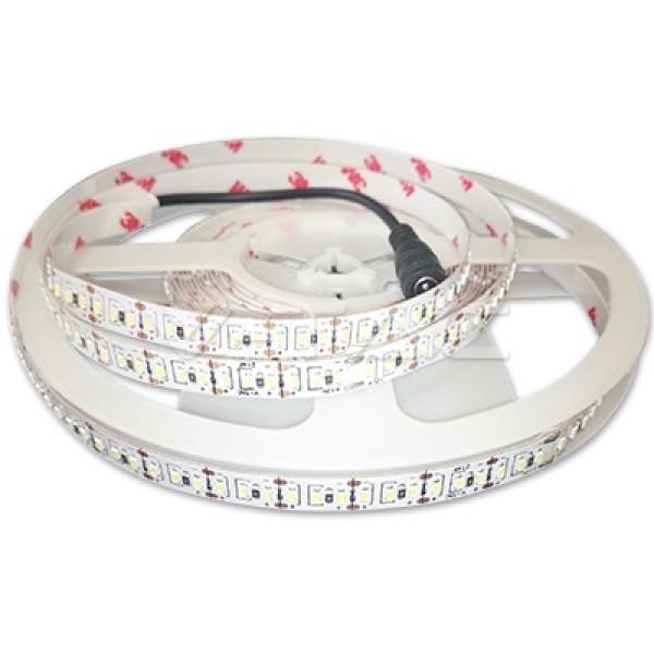 LED szalag , 3014 , 204 led/m , 18 Watt/m , meleg fehér , 1.700 LM/m