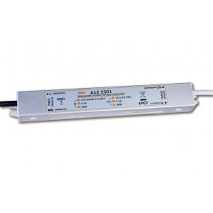 LED tápegység , 12 Volt , 30 Watt , 2,5A , kültéri , IP67 , Ultra Slim
