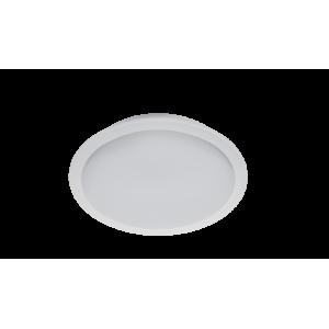 LED panel , 18W , süllyesztett , kerek , természetes fehér , vízvédett , IP65