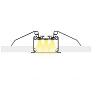 Rugós rögzítő INSO alumínium profilhoz