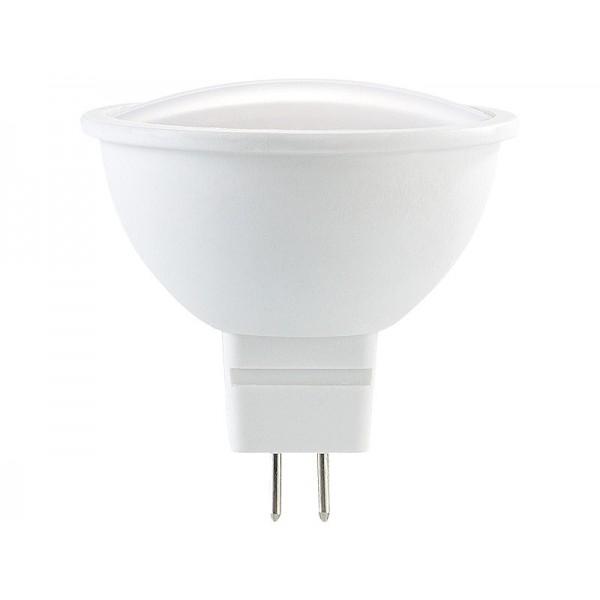 LED lámpa , 12V DC , MR16 , G5.3 foglalat , 7 Watt , meleg fehér