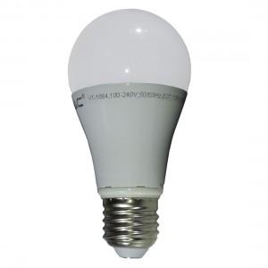 LED lámpa , égő , körte ,  E27 foglalat , 10 Watt , meleg fehér , buborékcsomagban