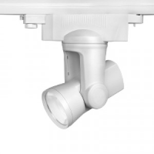 LED fényvető , sínes , track light , 25 Watt , RGBW , távirányítóval mozgatható és dimmelhető