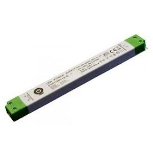 LED tápegység , 12 Volt , 30 Watt , 2.5A , Ultra Slim