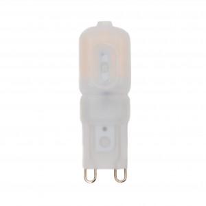 LED lámpa , égő , G9 foglalat , 2,5 Watt , 270° , meleg fehér