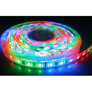LED szalag , 5050 , 60 led/m , 9 W/m , RGB  méteres