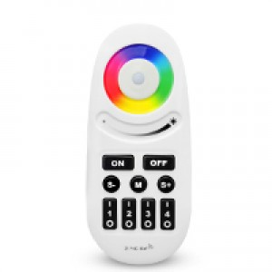 RGB és RGBW 4 csatornás távirányító fekete nyomógombokkal