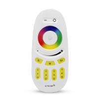 RGB és RGBW távirányító , Dimmer , 4 csoport (zóna) , group control , sárga gombok