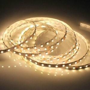 LED szalag , kültéri , 5050 , 60 led/m , 9 Watt/m , meleg fehér méteres