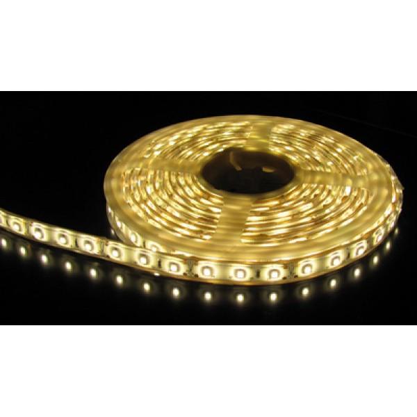 LED szalag , kültéri , 3528 , 60 led/m , 3,6 Watt/m , természetes fehér méteres