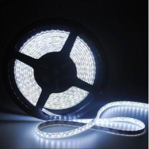 LED szalag , 3528 , 120 led/m , 9,6 Watt/m , hideg fehér , Optonica
