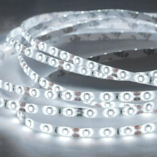 LED szalag , kültéri , 3528 , 60 led/m , 3,6 Watt/m, HIDEG FEHÉR méteres