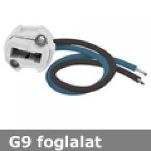G9 kerámia foglalat 230V , beépíthető