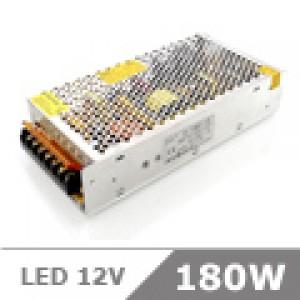 LED tápegység , 12 Volt , 180 Watt , 15A , ipari , LoCa