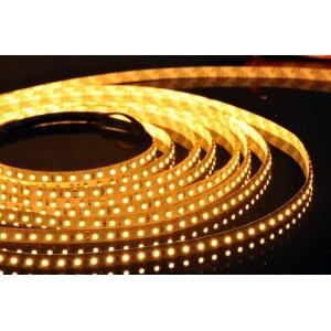 LED szalag , kültéri , 3528 , 120 led/m , 9,6 Watt/m , meleg fehér
