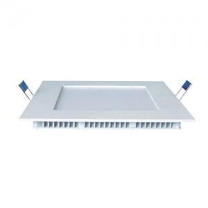 LED panel , 12W , süllyesztett , négyzet , dimmelhető , állítható fehér színárnyalat , CCT
