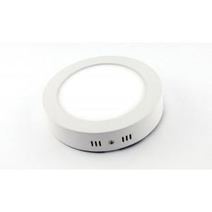 Optonica LED panel   24W   falon kívüli   kerek   hideg fehér