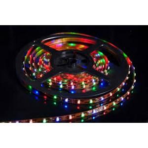 xLED szalag , 3528 , 60 led/m , 3,6W/m , RGB