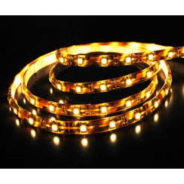 LED szalag , 5050 , 60 led/m ,14,4m , sárga, kültéri