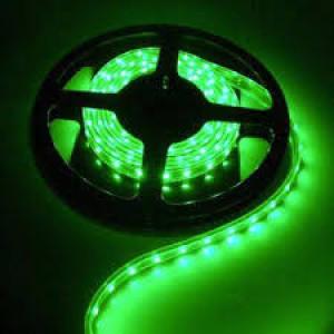 LED szalag , 3528 , 60 led/m , 3,6W/m , zöld méteres