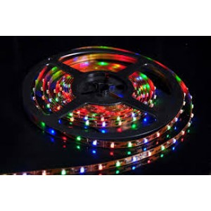 LED szalag , x 3528 , 60 led/m , 4,8W/m , RGB