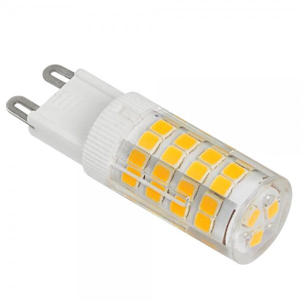 LED lámpa , égő , kukorica , G9 foglalat , 5 Watt , 320° , meleg fehér