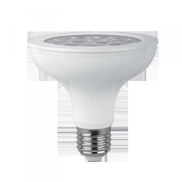LED lámpa ,égő, E27 foglalat , PAR 30, 12 Watt , természetes fehér