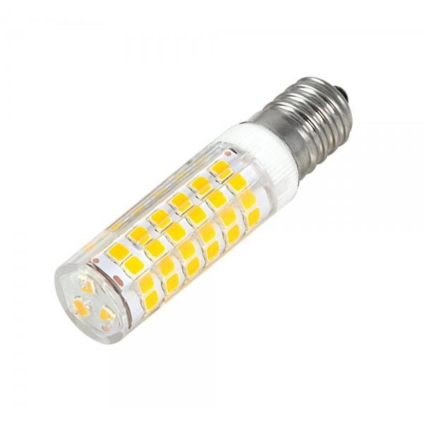 LED lámpa , égő , kukorica , E14 foglalat , 7 Watt , 360° , hideg fehér