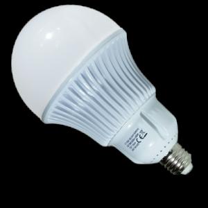 LED lámpa , égő , körte ,  E27 foglalat , 30 Watt , természetes fehér