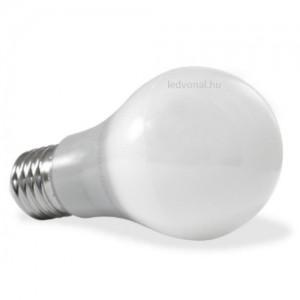 LED lámpa , égő , körte , x E27 foglalat , 5 Watt , hideg fehér , vt
