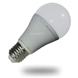 LED lámpa , égő , körte , x E27 foglalat , 5 Watt , meleg fehér , vt