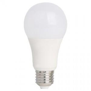 LED lámpa , égő , körte ,  E27 foglalat , 7 Watt , hideg fehér , akciós