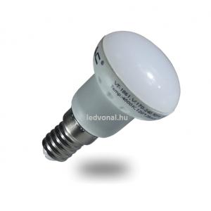LED lámpa , égő , szpot ,  E14 foglalat , 3 Watt , meleg fehér