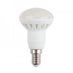 LED lámpa , égő , szpot ,  E14 foglalat , 6 Watt , természetes fehér