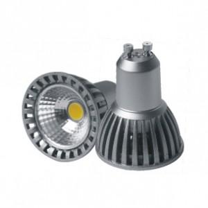 LED lámpa , égő , szpot , GU10 foglalat , 6 Watt , 50° , hideg fehér