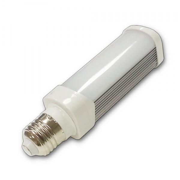 LED lámpa , égő , ufó ,  E27 foglalat , 6 Watt , hideg fehér