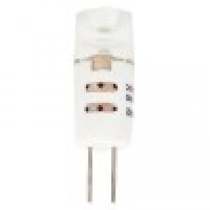 LED lámpa , 12V DC , G4 foglalat , 1,2 Watt , Cree , 300° , lencsés , meleg fehér