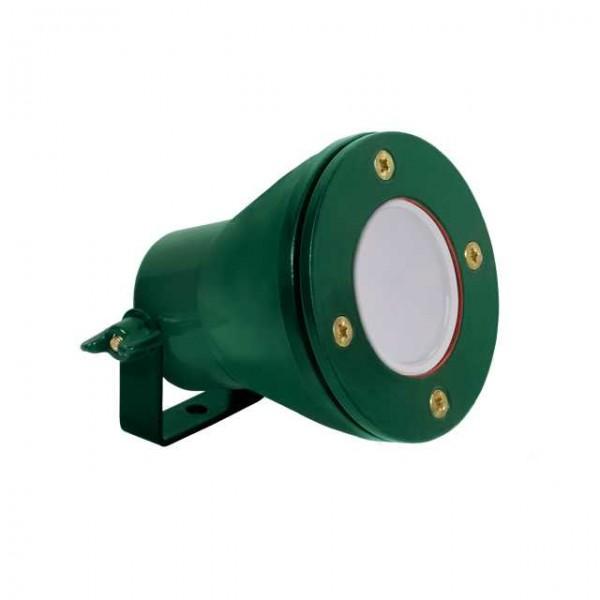 LED lámpa , AKVEN vízálló lámpatest, 12V DC, MR16