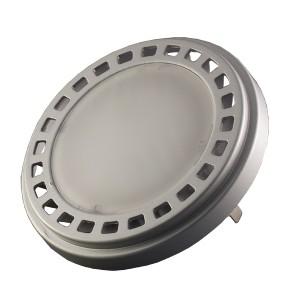 LED lámpa , 12V DC , AR111 foglalat , 15 Watt , 120° , meleg fehér