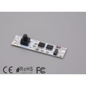 Beépíthető kapcsoló (12V-8A) , nyomógombos