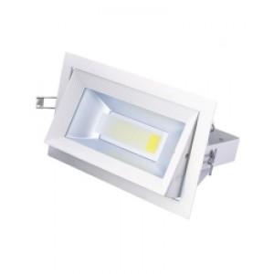Optonica LED panel   mélysugárzó   30 W   süllyesztett   négyszög   hideg fehér