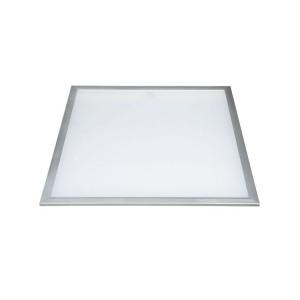 LED panel , 600 x 600 mm , 45 Watt , természetes fehér, dimmelhető , szürke vékony keret