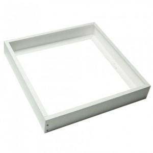 Led panel beépítő keret , 600x600 mm , alumínium , fehér