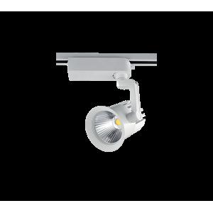 Sínes LED fényvető , track light , 30 Watt , 60° , természetes fehér