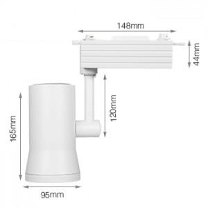 LED fényvető , sínes , track light , 25 Watt , RGBWW,