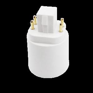 Foglalat adapter G24-E27