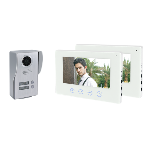 Elmark 2 lakásos WiFI videó kaputelefon 2 monitorral - 195072