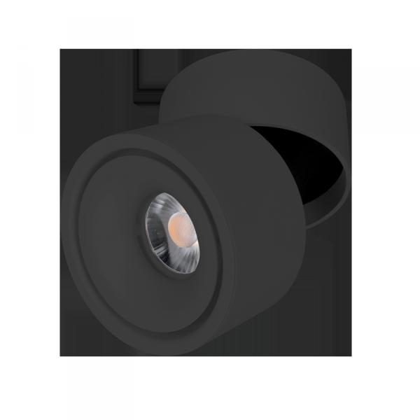 LED sínes lámpatest, track light, 10 W, fekete színű- Elmark SKY
