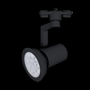 Elmark TL809 Sínes lámpa E27 foglalattal Fekete