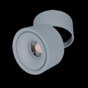LED sínes lámpatest, track light, 10 W, szürke színű- Elmark SKY
